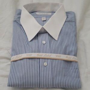 Roundtree and Yorke Long Sleeve Dress Shirt